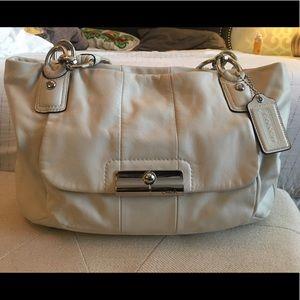Coach Kristin Leather ZIP Tote Hobo Shoulder Bag